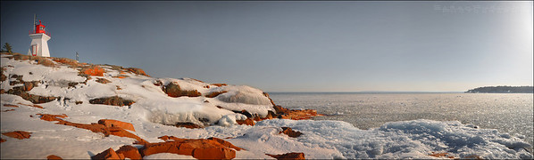 Lake Huron. Killarney Ontario.