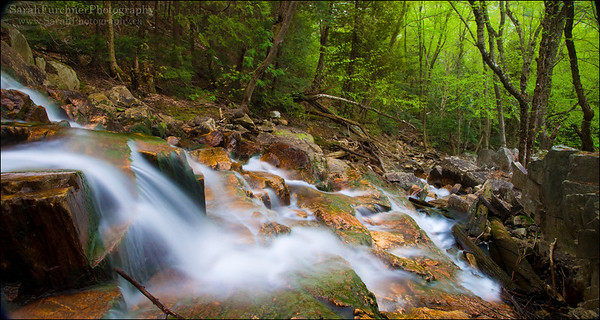 The Notch Creek. Killarney Provincial Park, Ontario.