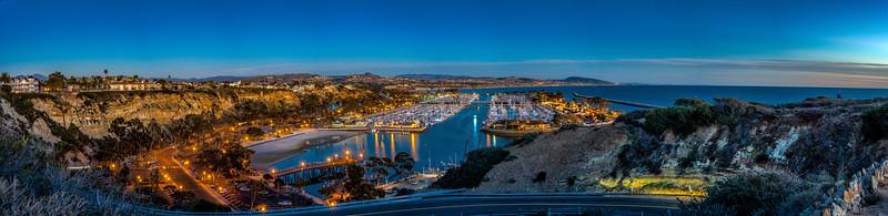 Dana Point Harbor at Sunset