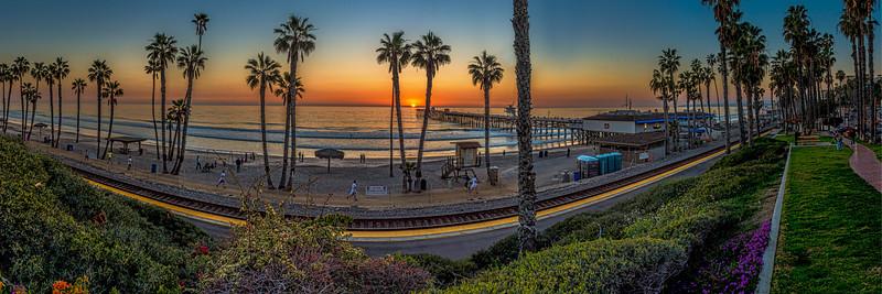 San Clemente Pier & Train Stop