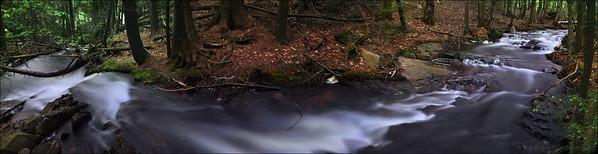 Artist Creek, Killarney Provincial Park, Ontario.