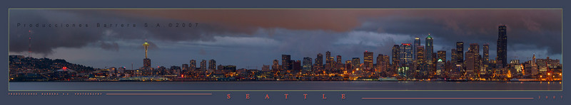 panorama 01 - Seattle night - low res