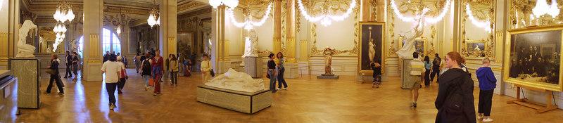 Louvre lights