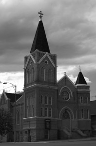 Church in Butte, Montana