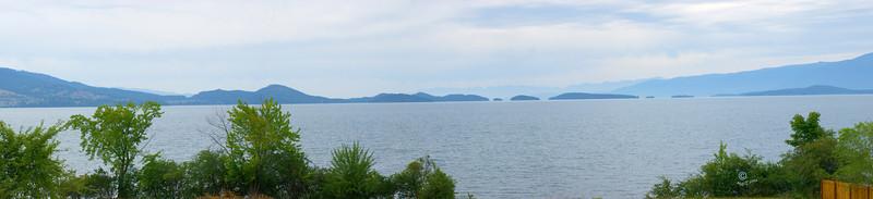 Flathead Lake, panarama