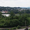 Allegheny River panorama over Creighton, PA (north of Pittsburgh) taken with OM-D E-M5 and Pana-Lumix 12-35mm f/2.8 lens