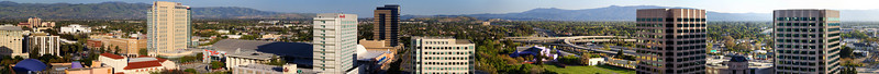Downtown San Jose Panorama Test 3