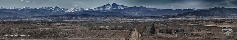 Rockies north of Denver, CO