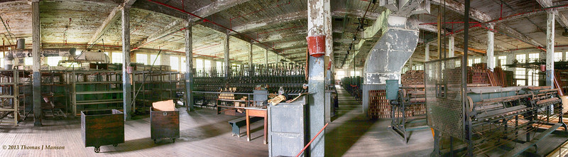 Lonaconing Silk Mill, 2nd Floor
