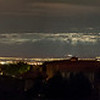 Albuquerque at night from High Desert