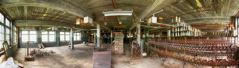 Lonaconing Silk Mill, 1st Floor