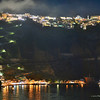 Santorini, Greece, 8PM, 9/25/12, taken from the Norwegian Jade with a Nikon D800 and Nikkor 85mm f/1.4