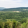 Panorama looking west from the Skyline Drive taken with OM-D E-M5 and Lumix 25mm f/1.4 lens