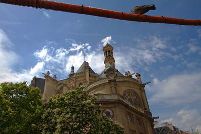 Oiseau et Saint-Eustache, Paris