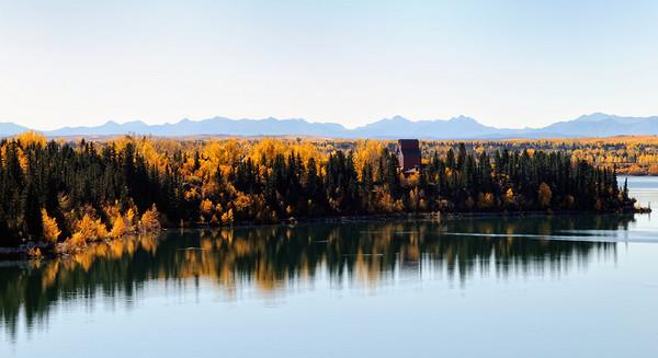 Heritage Park, Calgary, Glenmore Reservoir