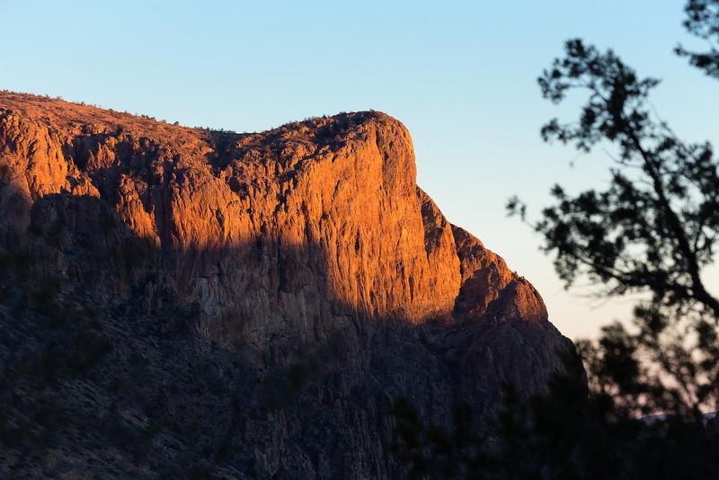 Chisos Mountain Lodge Entrance