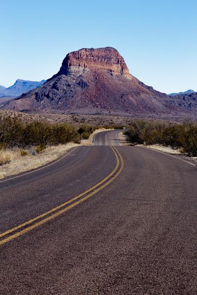Road to Castolon