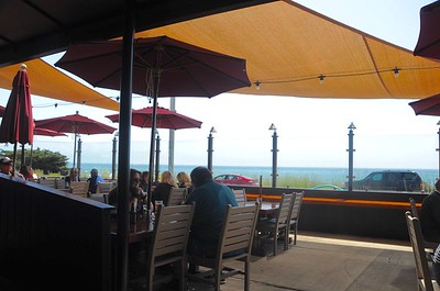 Lunch with an ocean view