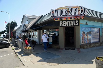 Onward down the coast to Cayucos, this was a great little seaside town that reminded us of going back in time