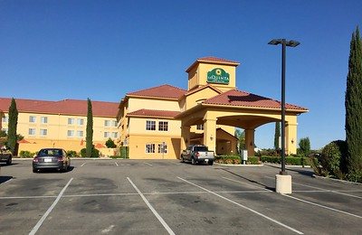 Finally we arrive at our hotel the La Quinta in Paso Robles owned by the Arciero family (racing fame)