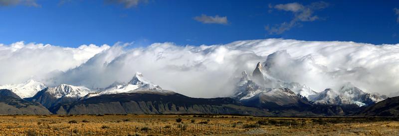 Los Glaciaries National Park, Argentina. 2009. Road to El Chalten.