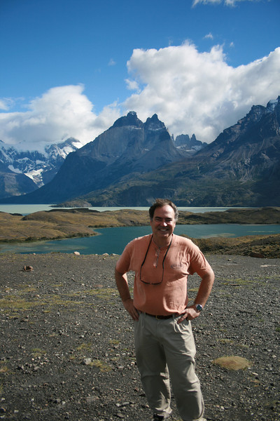 Torres del Paine National Park, Chile. 2009. Lago Grey.