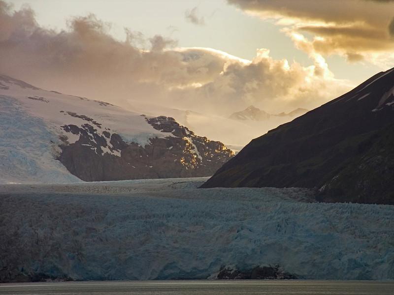 Travel, Nature, Scenic, Wildernes, Landscape, Chilean Fjords, Glacier, Ice, Snow, Clouds