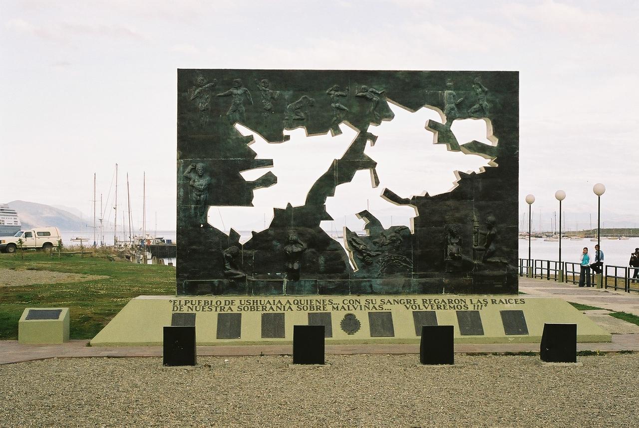 Malvinas memorial, Ushuia