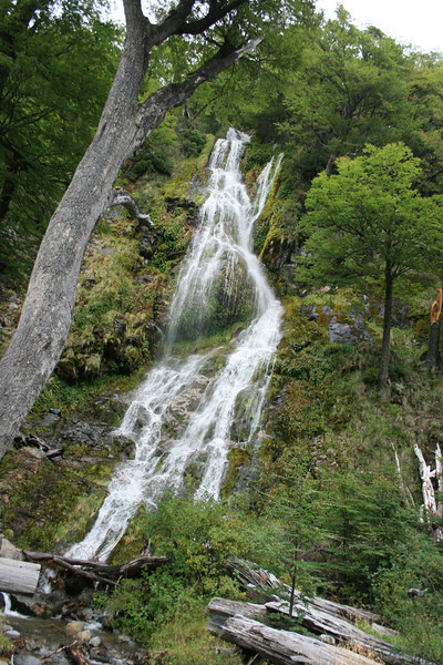 Los Glaciaries National Park, Argentina. 2009. Falls.