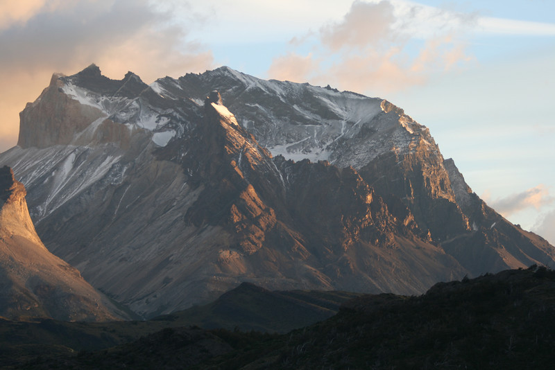 Torres del Paine National Park, Chile. 2009. Sunrise.