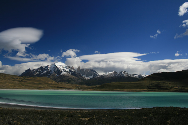 Torres del Paine National Park, Chile. 2009. Outside of park, on eastern side.