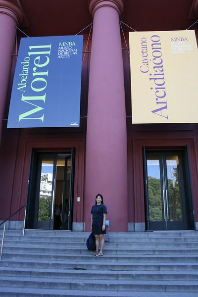 Buenos Aires, Argentina. 2009. Art Museum.
