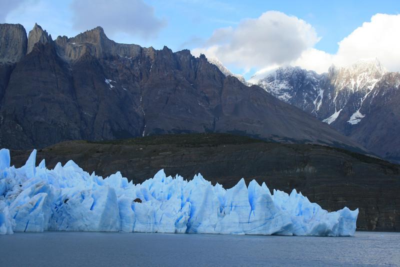 Torres del Paine National Park, Chile. 2009. Grey Glacier.