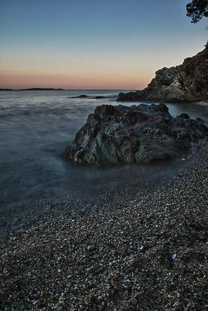 Magnifique Crique de la Presqu'île de Giens - France (HDR 5 Raw)