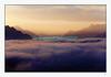 Novembre 2009: mer de brouillard sur le lac Léman.