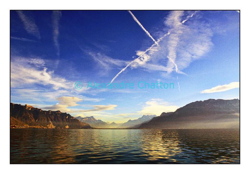 """""""X-files"""" sur le Le lac Léman"""