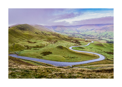 Road to Edale from Mam Tor