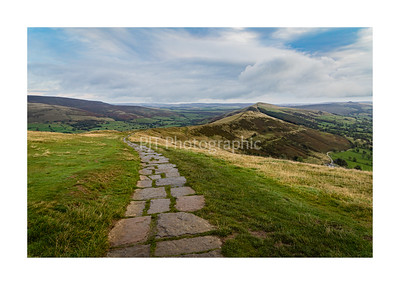 Path along Mam Tor