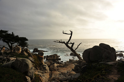 Sunset at Pebble Beach  (C) 2009 Brian Neal