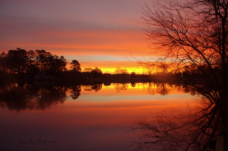 Dawn on the Millpond