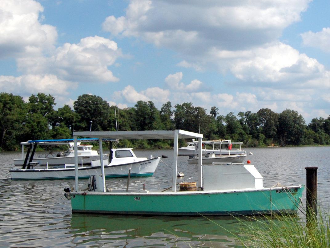 Waiting Wye Workboats