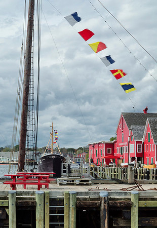 Lunenberg docks.