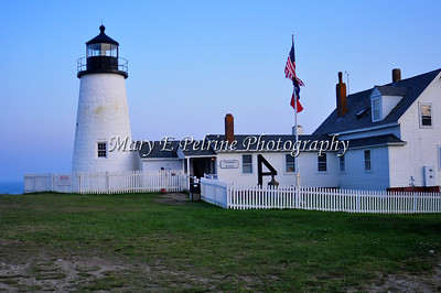 Pemaquid Lighthouse and a few sunset shots