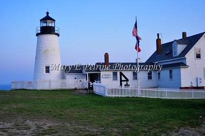 Pemaquid Lighthouse and a few sunset shots