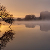 Carew, on a misty winter morning