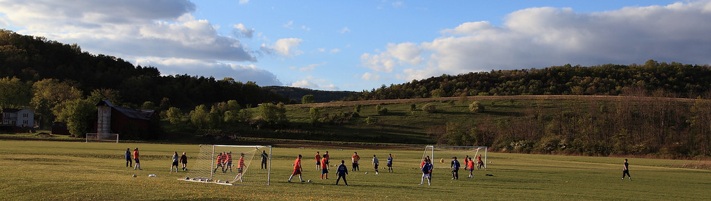 Soccer in central PA farm country