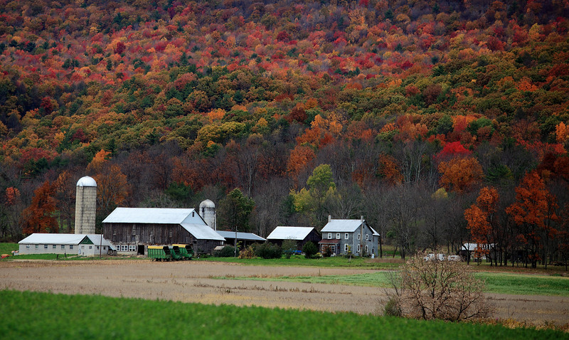October farm scene, Rebersburg, PA