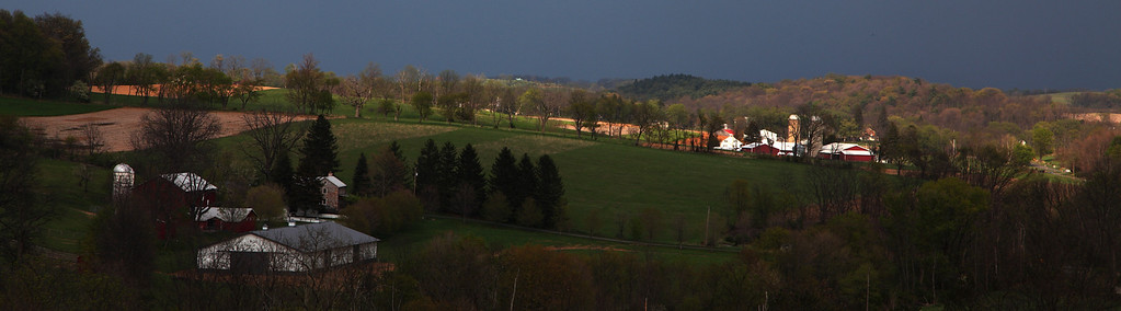 Looking toward Linden Hall, PA