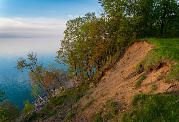The Coast line of Lake Erie in Erie County