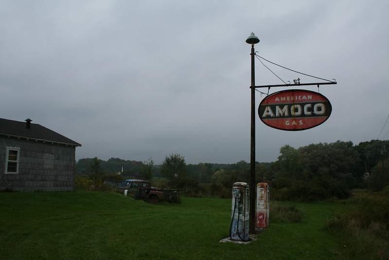 Abandoned Amoco Station